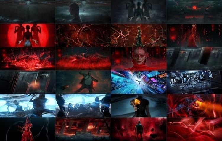 Homage Skyfall title sequence A - garin2 | ello