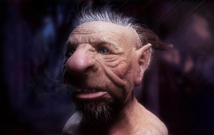 Troll - troll, 3d, 3dart, creature - femayer | ello