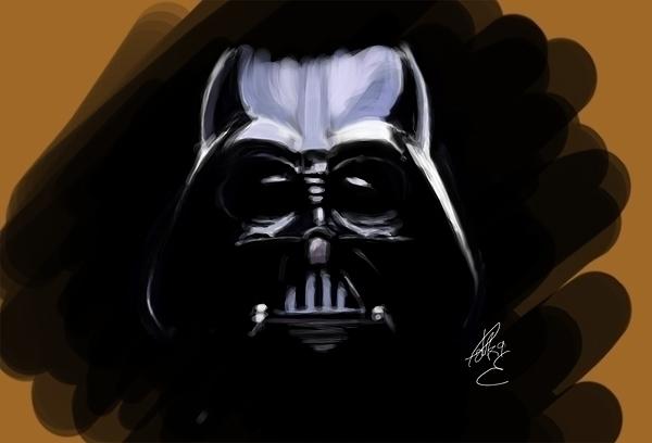 Lord Vader (Speedpaint - fanart - tokkatrain | ello