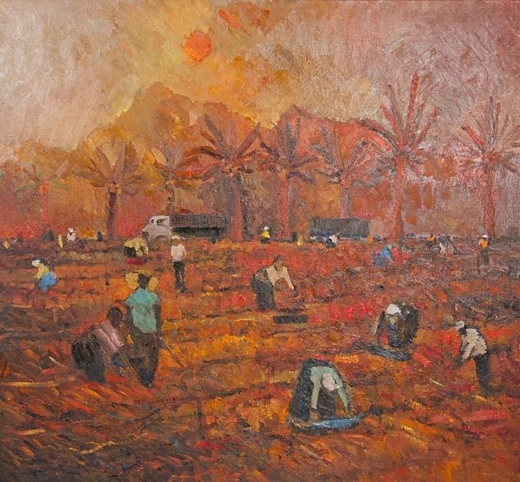 Vintage, 110/130 canvas / oil,  - antonbogatov | ello
