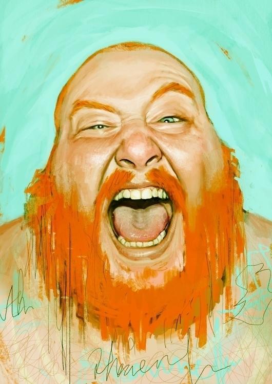 Action Bronson - illustration, hiphop - lucaboni | ello