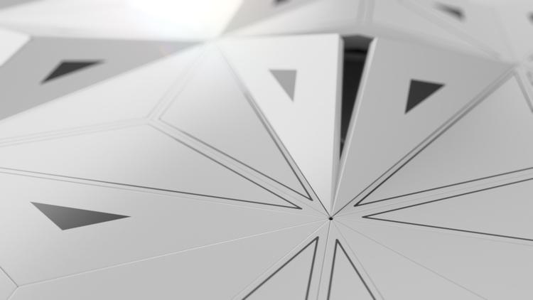 Triangles Maya - animation, 3dart - art_em | ello