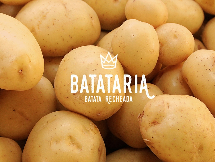 potato, branding, brand, yellow - thamaramaura | ello