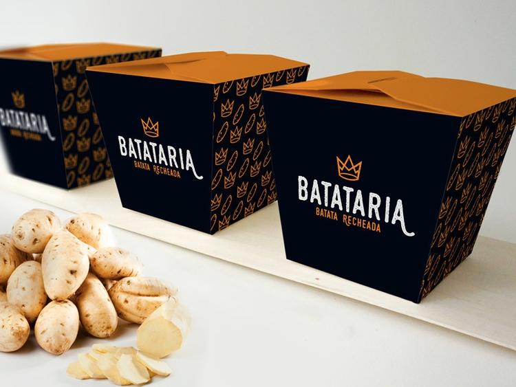 potato, branding, brand, brazil - thamaramaura | ello