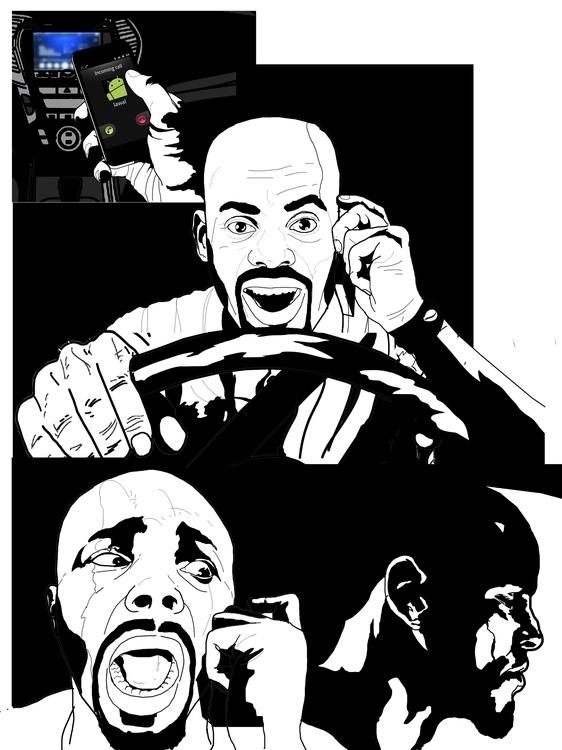 page 3 - comic, comicpage, blackandwhitedrawings - sunnyefemena | ello