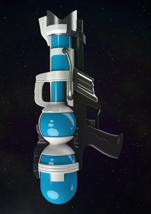 Space blaster! piu-piu!! quick - art_em | ello
