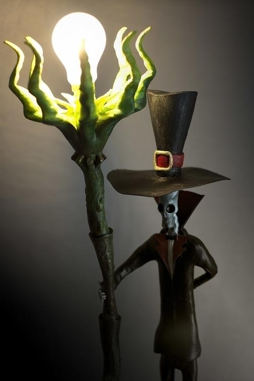 Lamplighter - 3dprint, steampunk - fryk   ello