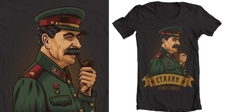 Stalin - portrait, stalin, ussr - arisuber | ello
