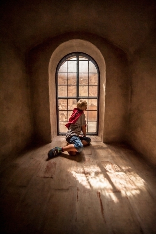 Boy window - photography - janneo-1422 | ello