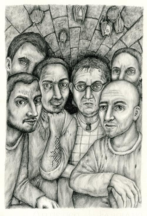 Prisoners - illustration, pencil - gerdamartens | ello