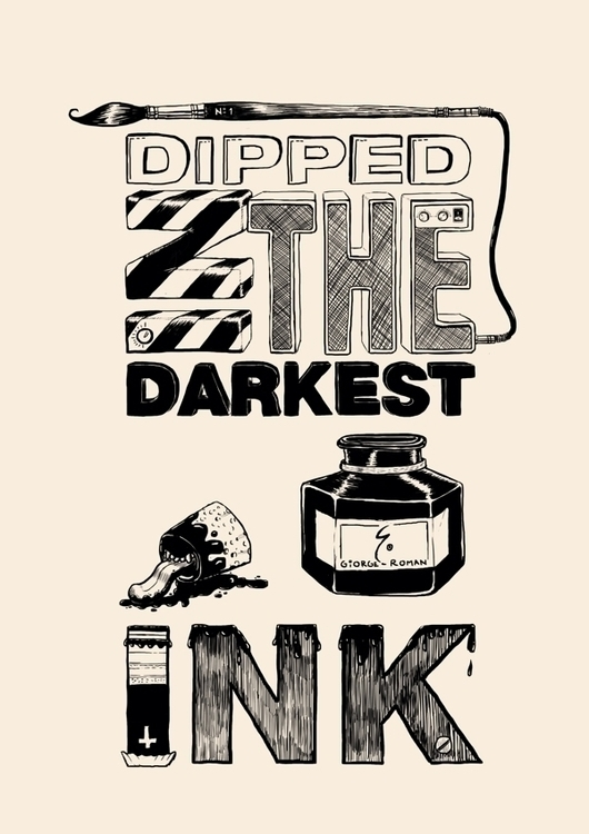 silkscreen project - type, typography - ofgiorge | ello