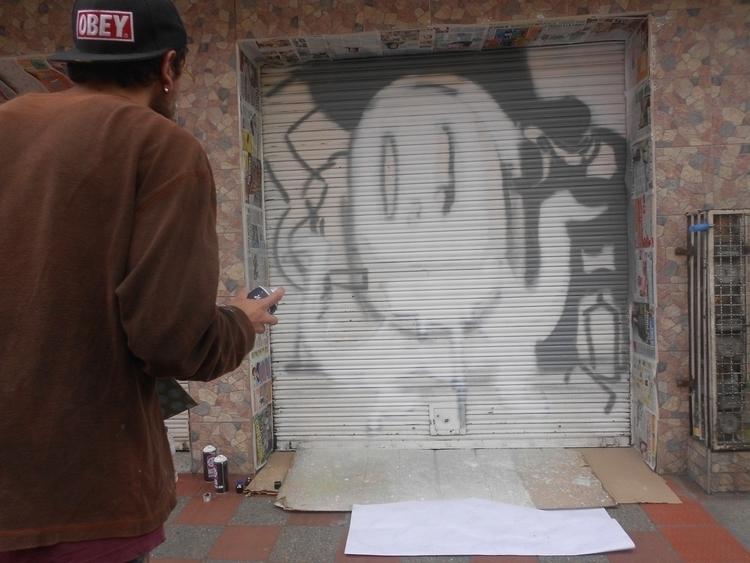 #art#mural#graffiti#streetart#painting - kamanyacosta | ello