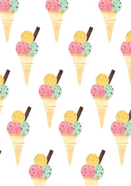 Ice Cool Surface Pattern Design - rachael_guiver | ello