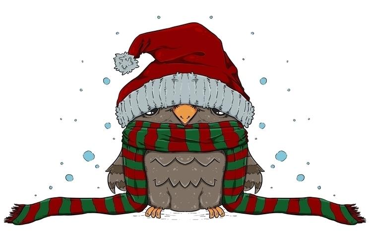 Cute owly Christmas wear... ill - zita-3948 | ello