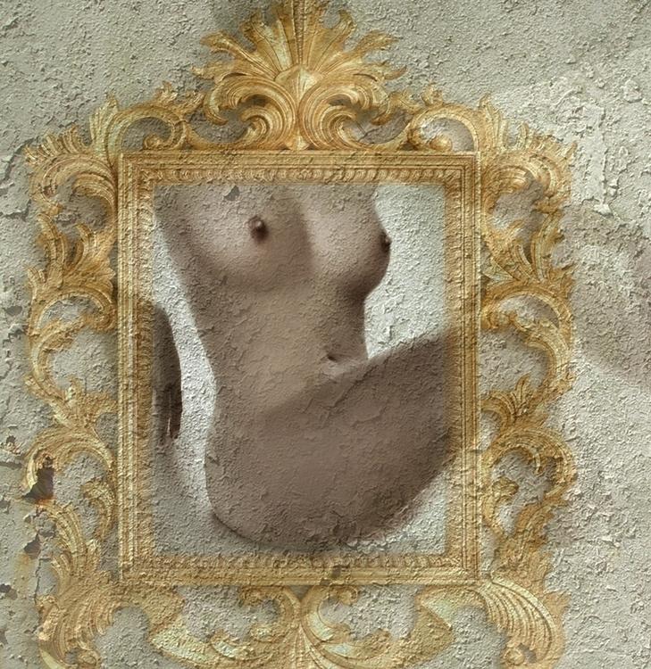 FRAMED - woman, girl, nude, body - carmenvelcic | ello
