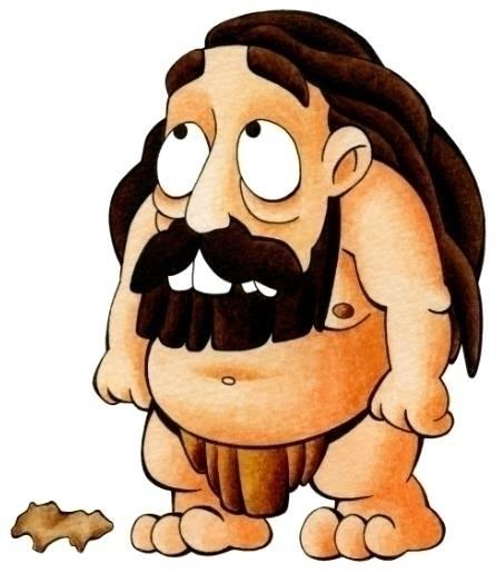 Primitive Man Figure Stone - primitive - dianamascarenhas | ello