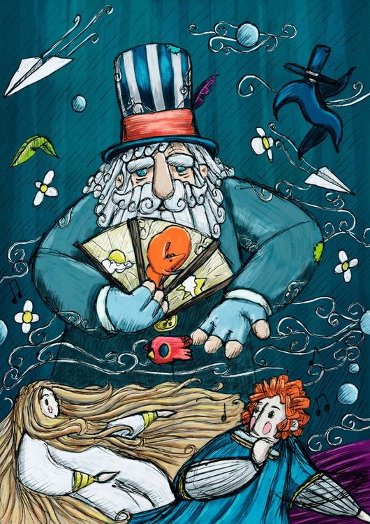 Faiseur des vents - illustration - cdelahaye | ello