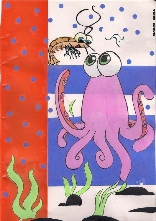 Amanda Loyolla - ospolvinhos, octopus - amandaloyolla   ello