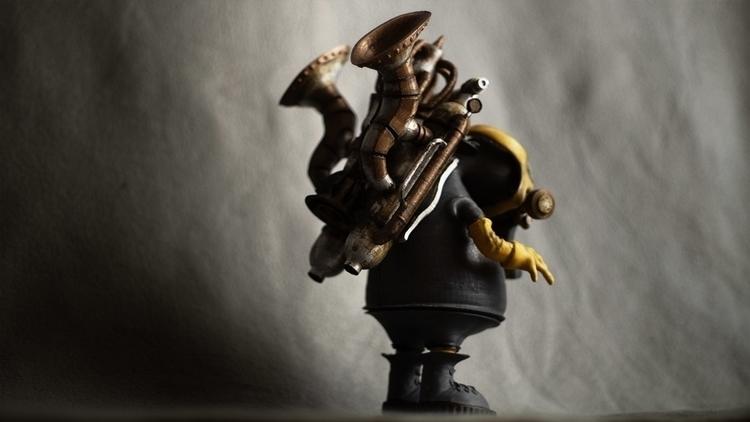 Trompette - 3dprint, steampunk - fryk | ello