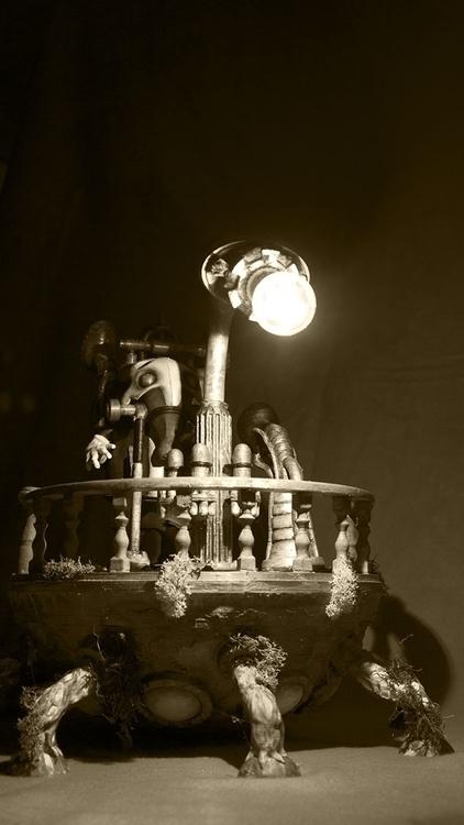 Trompette vessel - 3dprint, steampunk - fryk   ello