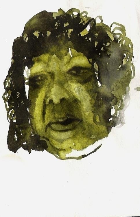 Size: 10cmX15cm, watercolour - painting - kejto | ello