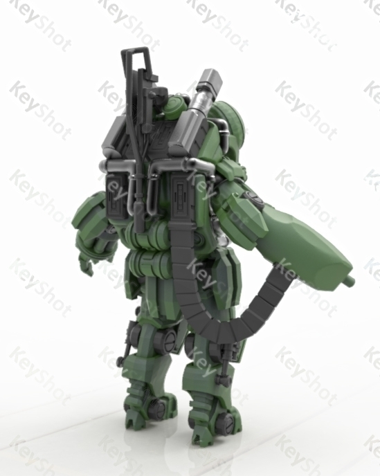 'Rusky Power Armour' 15mm Figur - adamrodgers-1139 | ello