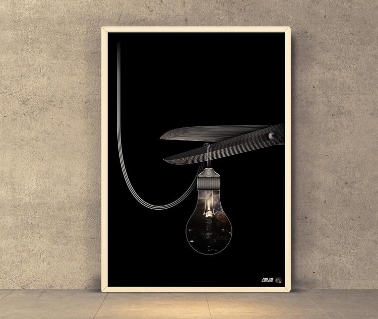 Dying light - illustration, photography - marcray | ello