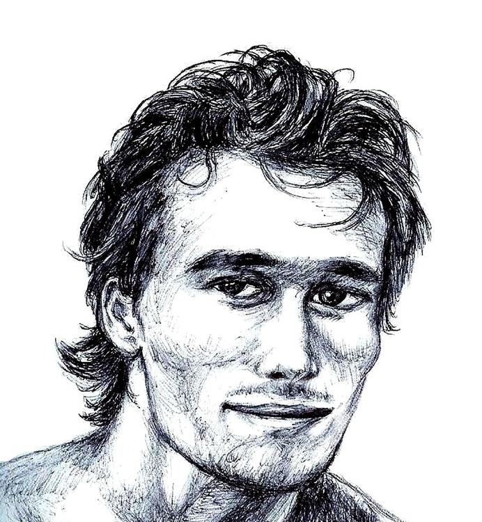 Jeff Buckley 1966-1997 - illustration - theartofsichiu | ello