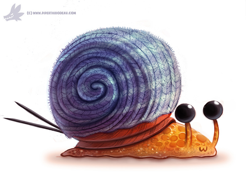 Daily Paint Knitted Snail Shell - piperthibodeau | ello