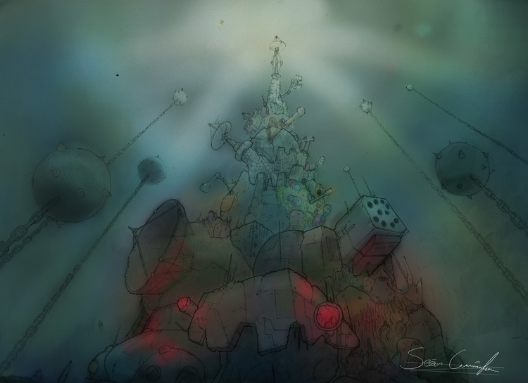 Mines watery stuff - backgrounds - paperbag-3414   ello