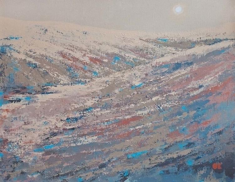 PLAINAIR MARS acrylic canvas, 9 - ogel   ello