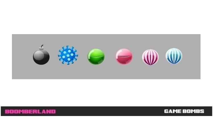 Boomberland - game bombs - gameart - federicobonifacini | ello
