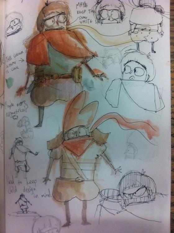 development work short - sketchbook - paperbag-3414 | ello