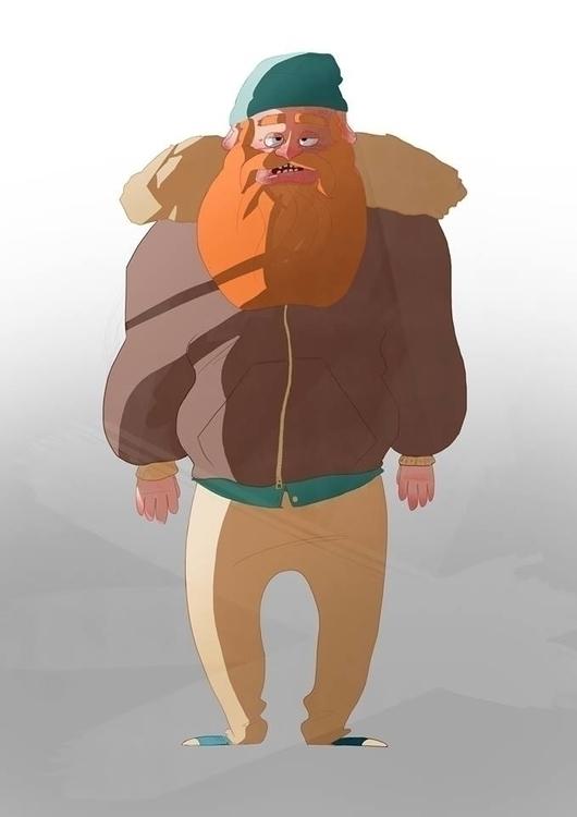 Duncan Leprechaun - duncan, characterdesign - paperbag-3414 | ello