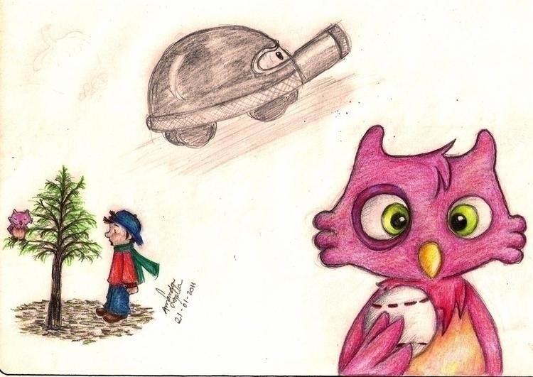 susana, tankiwi, comicbook, owl - amandaloyolla | ello