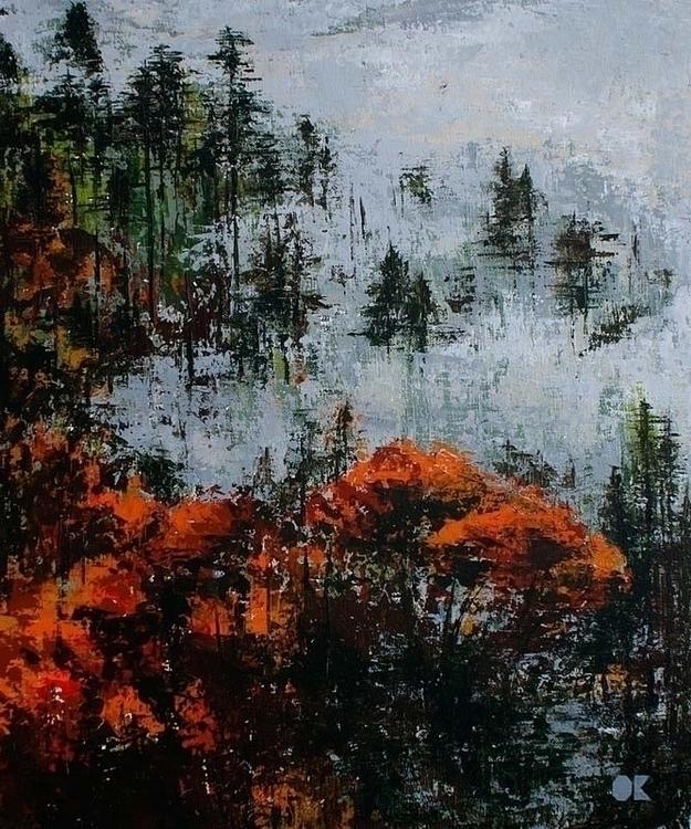 TWIN PEAKS acrylic canvas, 50x6 - ogel | ello
