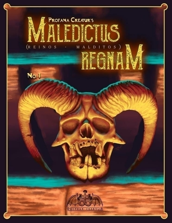 Cover part comic Maledictus Reg - profanacreatur | ello