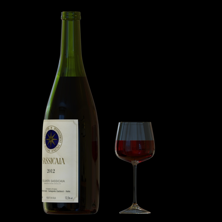 3d, 3drendering, winebottles - emarchena | ello