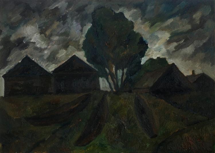 Chusovaya, 50/70, Oil / canvas - antonbogatov | ello