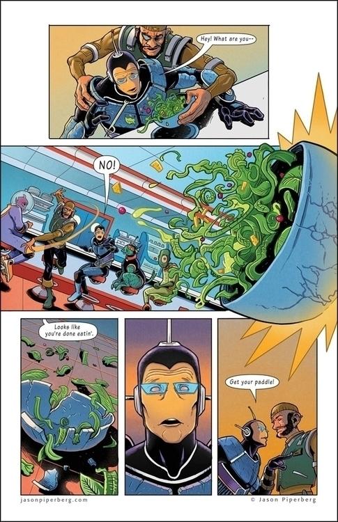 Spaceman Bloater: Klick Klak Pa - jasonpiperberg | ello