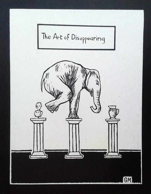 art disappearing Garance Monfor - garancemonfort | ello
