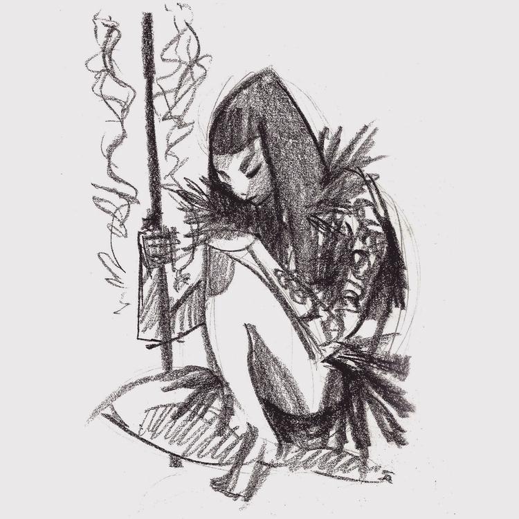 Sketch - pencil, sketch - klaudrawstuff | ello