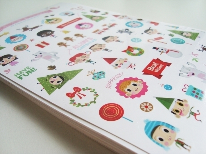 Christmas north pole - stickers - federicobonifacini | ello