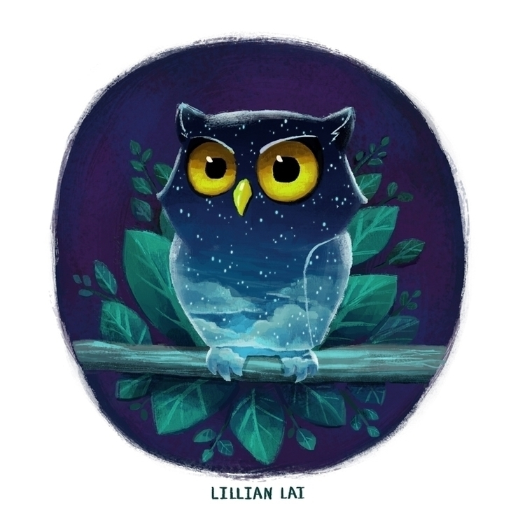 sketch_dailies, nightowl,  - lillisketch | ello