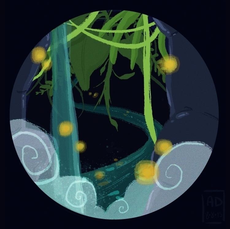 Rainforest doodle - digitalart, illustration - aridaughma | ello