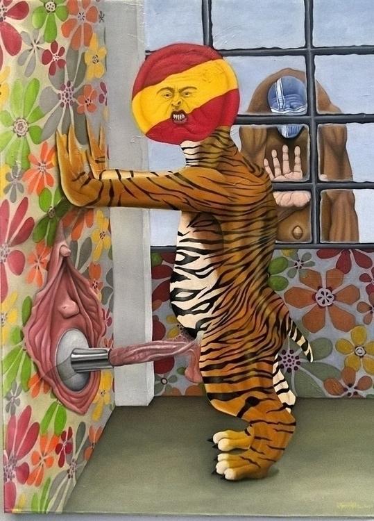 Fan Boys - painting, illustration - cjrosenthal | ello