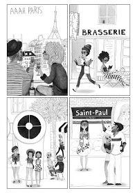 illustration, paris, pencilillustration - pavisnella | ello