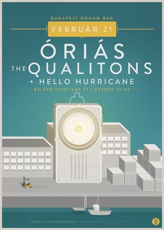 Orias | gig poster - gigposter, posterdesign - brown-1009 | ello