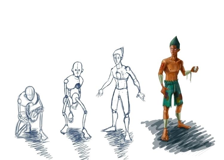 ShipFish - characterdesign - johnathanheronart | ello