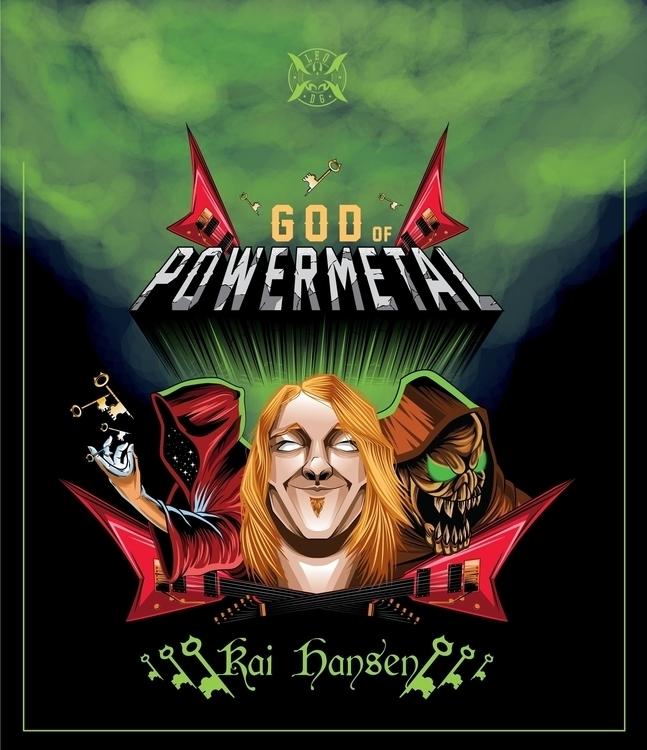 Kai Hansen, PowerMetal God crea - leom92 | ello